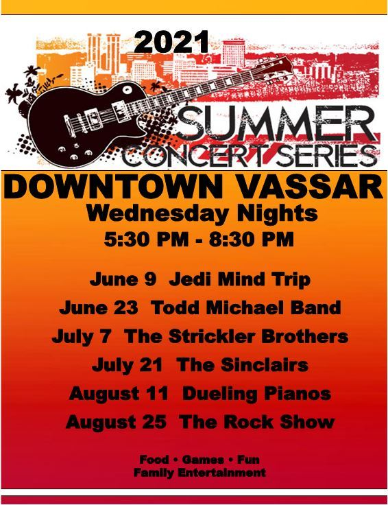 City of Vassar Downtown Summer Concert Series